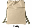 Authentic Pigment Canvas Bag 100% Cotton Pigment Dyed Cinch Sack