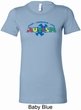 Autism Accept Understand Love Ladies Longer Length Shirt