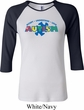 Autism Accept Understand Love Ladies Raglan Shirt