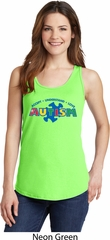 Autism Accept Understand Love Ladies Tank Top