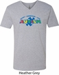 Autism Accept Understand Love Mens V-Neck Shirt