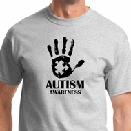 Autism Awareness Hand Mens Shirts