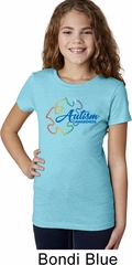 Autism Awareness Puzzle Girls Shirt