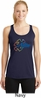 Autism Awareness Puzzle Ladies Dry Wicking Racerback Tank Top