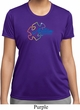 Autism Awareness Puzzle Ladies Moisture Wicking Shirt