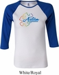 Autism Awareness Puzzle Ladies Raglan Shirt