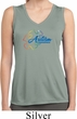 Autism Awareness Puzzle Ladies Sleeveless Dry Wicking Shirt
