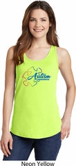 Autism Awareness Puzzle Ladies Tank Top