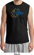 Autism Awareness Puzzle Mens Muscle Shirt