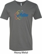 Autism Awareness Puzzle Mens V-Neck Shirt
