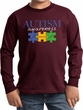 Autism Awareness Puzzle Pieces Kids Long Sleeve