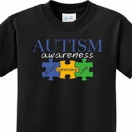 Autism Awareness Puzzle Pieces Kids Shirts