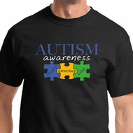Autism Awareness Puzzle Pieces Mens Shirts