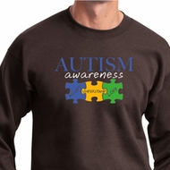 Autism Awareness Puzzle Pieces Sweatshirt