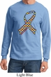 Autism Awareness Ribbon Long Sleeve Shirt