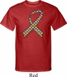 Autism Awareness Ribbon Mens Tall Shirt