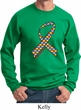 Autism Awareness Ribbon Sweatshirt