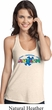Autism Accept Understand Love Ladies T-Back Tank Top