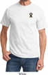 Autism Ribbon Pocket Print T-shirt