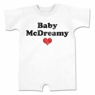 Baby McDreamy Funny Baby Romper White Infant Babies Creeper