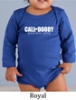 Baby Romper Shirt Doody Calls Infant Baby Long Sleeve Creeper T-Shirt