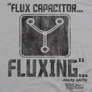 Back To The Future Fluxing Shirts