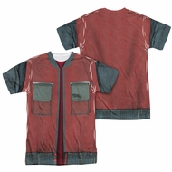 Back To The Future Future Jacket Sublimation Shirt Front/Back Print