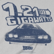 Back To The Future Gigawatts Shirts