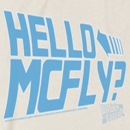 Back To The Future Hello McFly Shirts