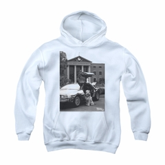 Back To The Future Hoodie Sweatshirt Einstein White Adult Hoody Sweat Shirt