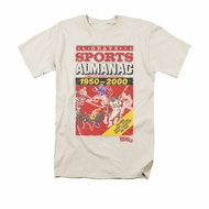 Back To The Future II Shirt Sports Almanac Adult Cream Tee T-Shirt