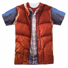 Back To The Future Mcfly Vest Sublimation Shirt