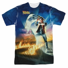 Back To The Future Movie Poster Sublimation Shirt