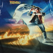 Back To The Future Movie Poster Sublimation Shirts