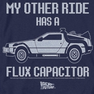 Back To The Future Other Ride Shirts