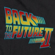 Back To The Future Part 2 Logo Shirts