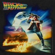 Back To The Future Poster Shirts