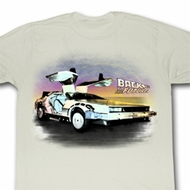 Back To The Future Shirt Been Back Adult Natural Tee T-Shirt