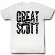 Back To The Future Shirt Great Scott White T-Shirt