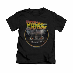 Back To The Future Shirt Kids Back Black Youth Tee T-Shirt