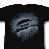 Back To The Future Shirt Outahere Adult Black Tee T-Shirt