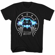 Back To The Future Shirt Speedometer Black T-Shirt