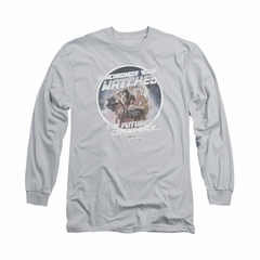 Back To The Future Shirt Synchronize Watches Long Sleeve Silver Tee T-Shirt
