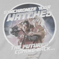Back To The Future Synchronize Watches Shirts