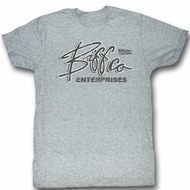 Back To The Future T-Shirt - Biff Co Gray Heather Adult Tee Shirt