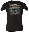 Back To The Future T-Shirt – Cars Coal Adult Tee Shirt