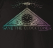 Back To The Future T-Shirt – Clock Tower Black Adult Tee Shirt
