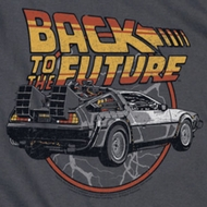 Back To The Future Time Machine Shirts