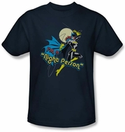 Batgirl Kids T-shirt - Night Person DC Comics Navy Blue Youth