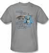 Batman And Robin T-shirt  - Favorite Things DC Comics Adult Silver